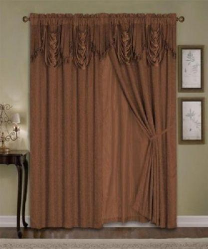 Curtains Ideas burgundy color curtains : Luxury Curtains | eBay