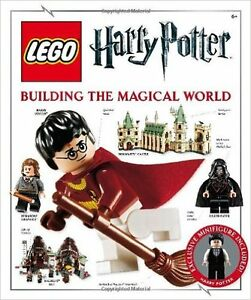 New LEGO Magical World Harry Potter book with Minifigure