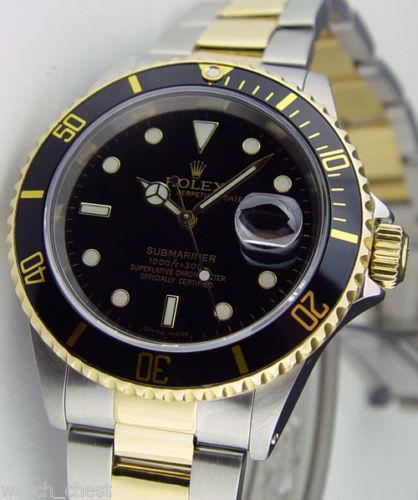 Mens Rolex Sport Watch Ebay