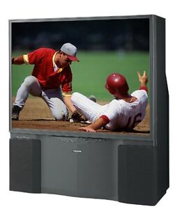 "TOSHIBA 50"" THEATREWIDE REAR PROJECTION TV"