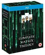Matrix Trilogy Blu Ray