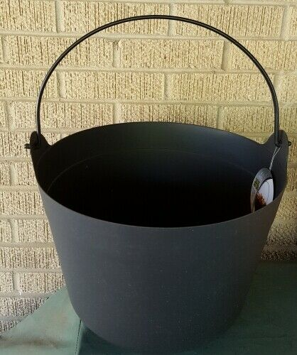 BIG Halloween Candy Bowl Witch Prop Black plastic In or Outdoor Cauldron Kettle