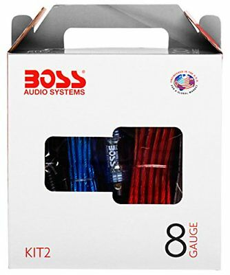 BOSS Audio KIT2 8 Gauge Amplifier Installation Wiring Kit – A Car Amplifier Wiri