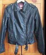 PU Leather Biker Jacket