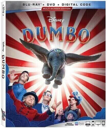 Dumbo [new Blu-ray] With Dvd, Ac-3/dolby Digital, Dolby, Digital Theat