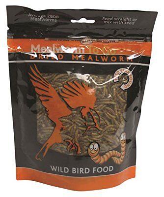 UNIPET USA WB069 Mealworm To Go Dried Wild Bird Food 3.52 oz