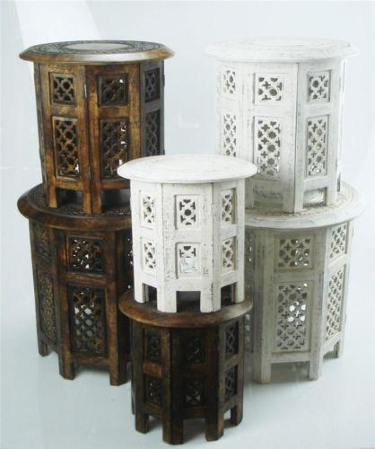 Indian Carved Table Ebay