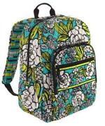 Vera Bradley Island Blooms Backpack