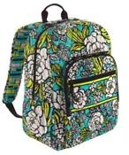 Vera Bradley Island Blooms Backpack