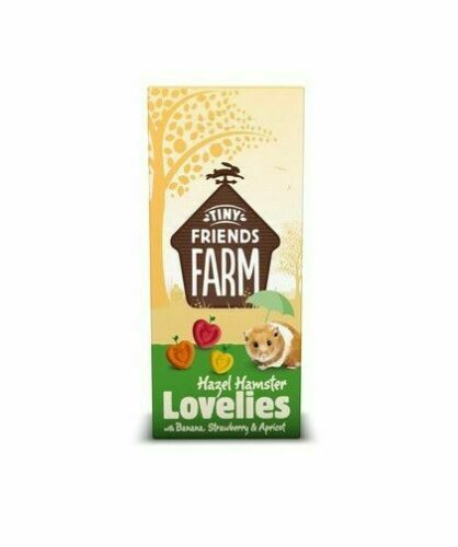 Supreme Tiny Friend Farm Hazel Lovelies Banana Strawberry Hamster Treat 4.2 oz