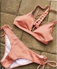 Korean Swimwear Bikini Pink for Women