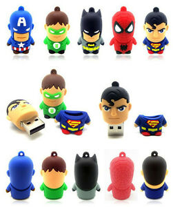 New-cartoon-warriors-model-usb-2-0-flash-memory-stick-pen-drive-4G-8G-16G-32GB