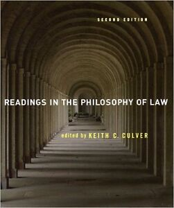 Readings in the Philosophy of Law (2nd Ed.)- Culver