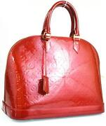 Louis Vuittons Handbags Red