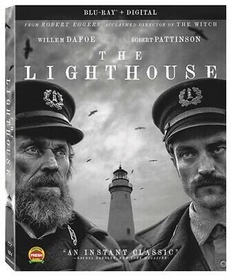 THE LIGHTHOUSE New Sealed Blu-ray Robert Pattinson Willem Dafoe