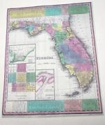 Antique Map Florida