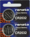 Renata Lithium-Based CR2032 Single Use Batteries