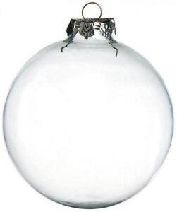 Clear Ornaments  eBay