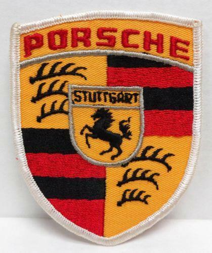 Porsche Patch Ebay