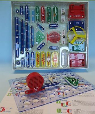 TOP Kinder Elektro Baukasten Elektronik Kiga Kita Hort Schule 256 Experimente
