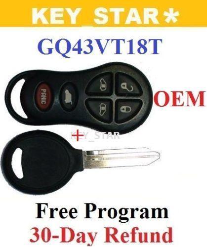 Dodge Grand Caravan Key Ebay