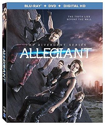 The Divergent Series  Allegiant  Blu Ray   Dvd   Digital Hd  New  Free Shipping
