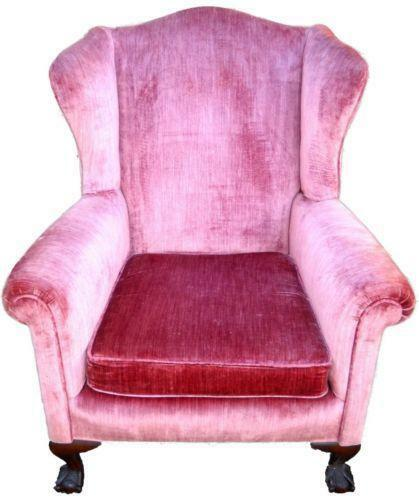 Chippendale Wingback Chair Ebay