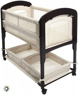 Baby Sleeper Bed Bassinet Portable Foldable Arm's Reach Conc
