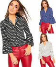 Party Polka Dot Tops for Women