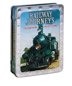 Railway Journeys-Vanishing Age of Steam-5 DVD Steel Box Set