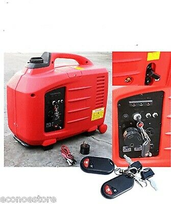 2700w Remote Key Start Digital Inverter Rv Gas Generator W Epa Carb Approved