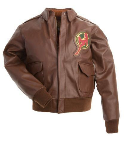 Flying tigers leather jacket