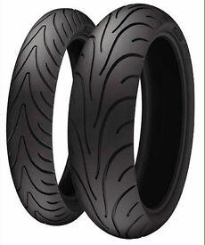 Barley used (2 motorcycle tires)
