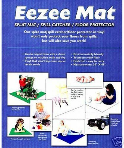 Splat Mat / Eezee Mat / Spill Catcher / Floor Protector NEW