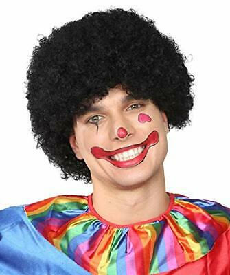 Super Scary Clown (Banana Costume Super Afro Scary Clown 70's Disco Halloween Wig,)