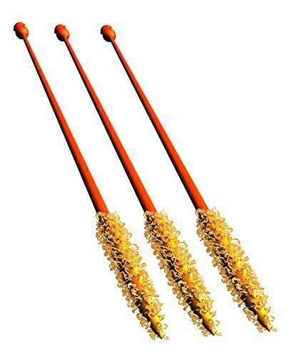 FlexiSnake Drain Weasel 3-Pack Refill Disposable Drain Clog Remover Wands - T...