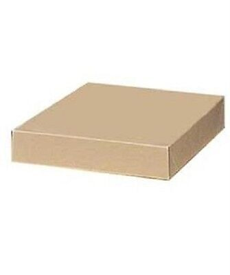 Boxes Gift 100 Kraft 11 X 8 X 1 H Cardboard Blouses Lingerie Apparel