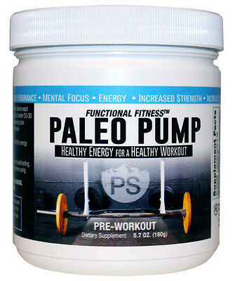#1 Rated PALEO PUMP All Natural Pre-Workout Powder Energy Blend 30 Servings  ()
