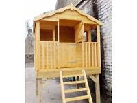 Kids Wooden Play House