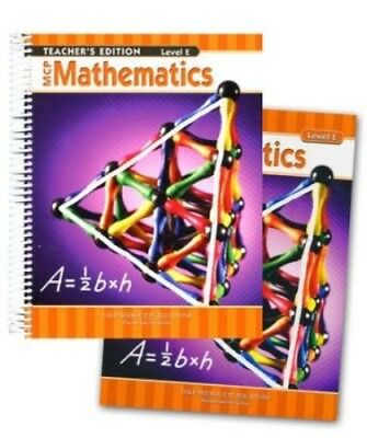 5th Grade 5 MCP Mathematics Level E Math Homeschool Bundle Modern Curriculum Pre Mcp Math Level