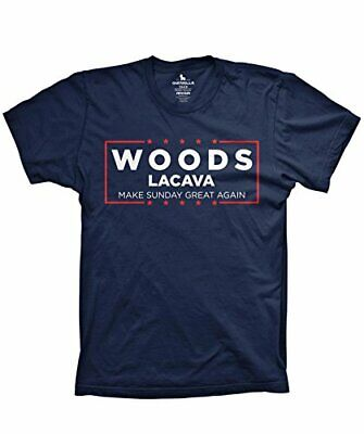 Woods Lacava Golf Shirt Make Sunday Great Again Funny Golf Tshirts