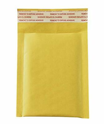 50 Pack 3.5x5 Inches Small Padded Envelopes Kraft Bubble Mailers Self Seal Shipp