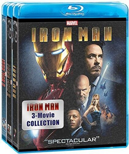 Iron Man: 3 Movie Collection (2015, Blu-ray NEW)
