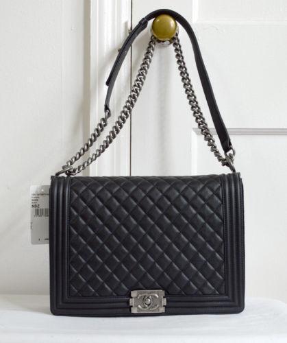 chanel boy handbags purses ebay