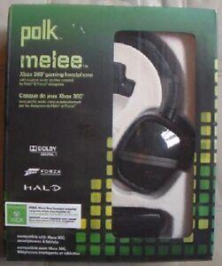 Polk Melee Xbox 360 Gaming Headphones