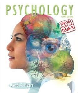 psychology tenth edition in modules UW Psych 101 TEXTBOOK Kitchener / Waterloo Kitchener Area image 1