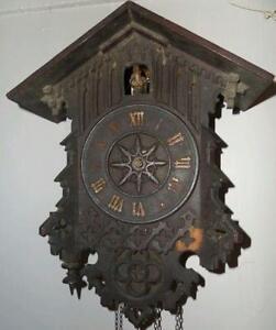 antique cuckoo clock