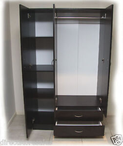Mission 3 Doors Wardrobe Combo With 2 Drawers - In Box - Delivery Available