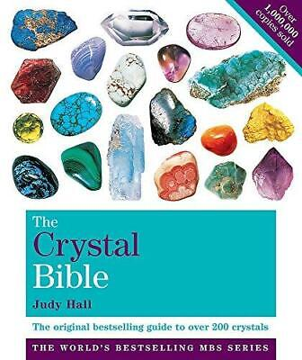 The Crystal Bible Volume 1 by Judy Hall Paperback NEW Book