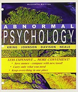 Abnormal psychology kijiji in toronto gta buy sell save abnormal psychology 11th edition fandeluxe Choice Image